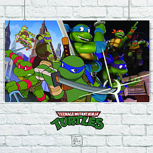 Постер Черепашки-ниндзя, TNMT (60x107см)