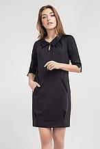 Нарядное молодежное черное платье от Bellise 42-48