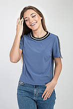 Летняя блуза индиго бенгалин-софт 42