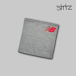 Теплый горловик New Balance серого цвета  (люкс копия)