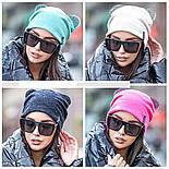 Женская шапка с ушками (4 цвета), фото 2
