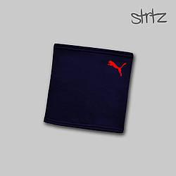 Теплый горловик Puma синего цвета  (люкс копия)