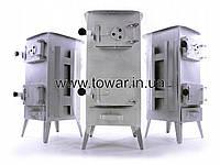 Буржуйка на дрова стальная 160m2 на 7 кирпичей 26 кг Польша