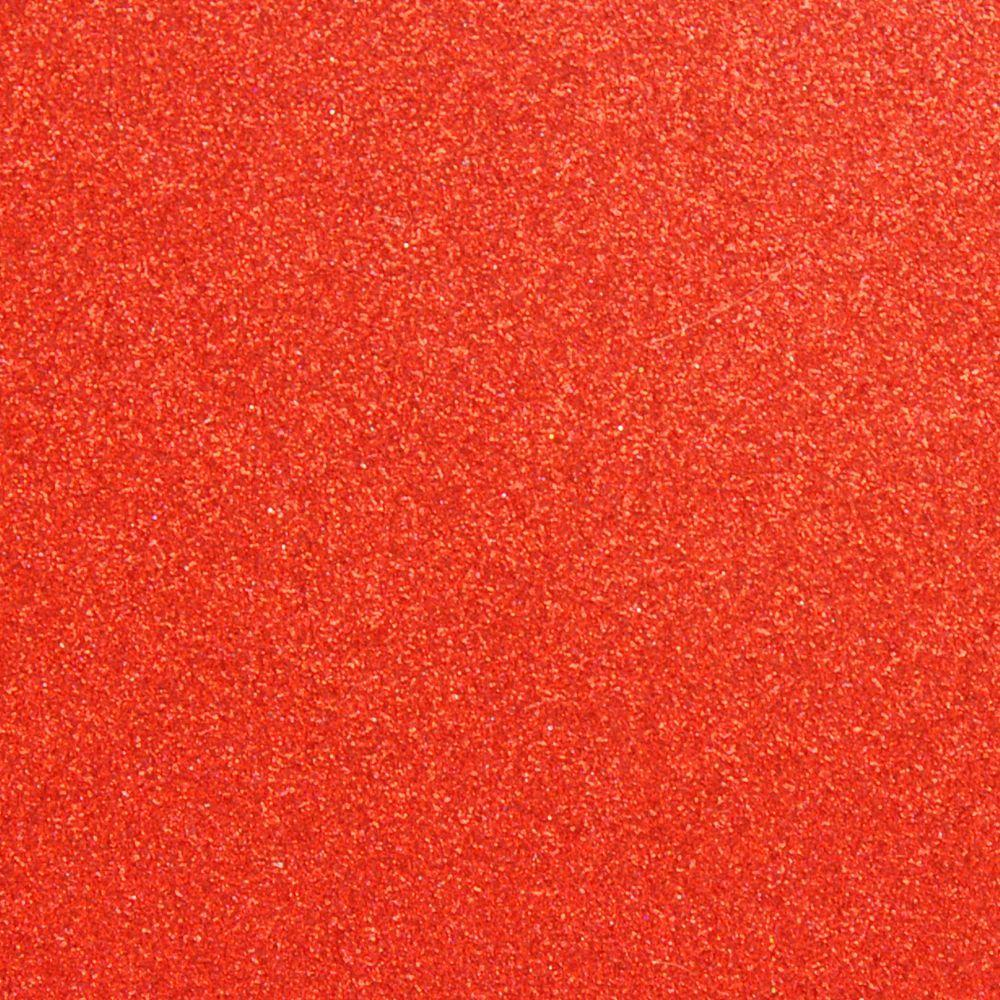 Глиттер 0.6 мм с клеевым слоем, Китай, КРАСНЫЙ, 20х32 см