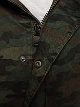 Парка мужская демисезонная с мехом , фото 3
