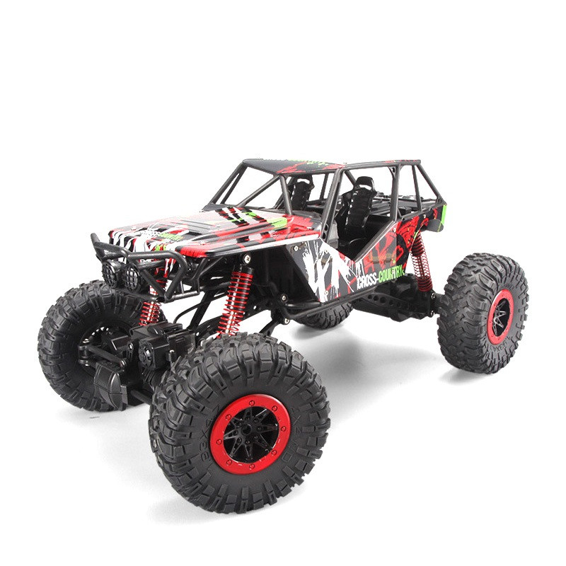Радиоуправляемая игрушка HB TOYS Rock Crawler Джип на р/у 1:10 700mAh 4x4 Красный (SUN2259)