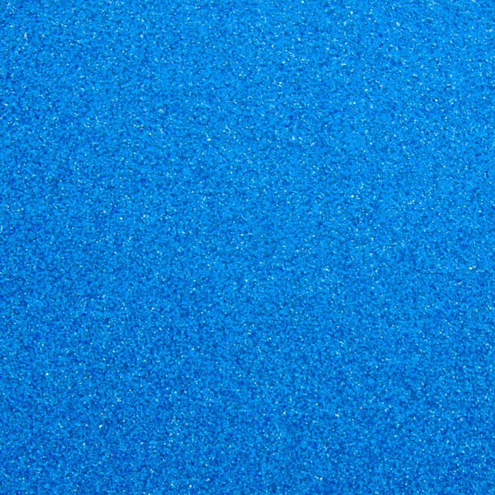 Глиттер 0.6 мм с клеевым слоем, Китай, СИНИЙ, 20х32 см