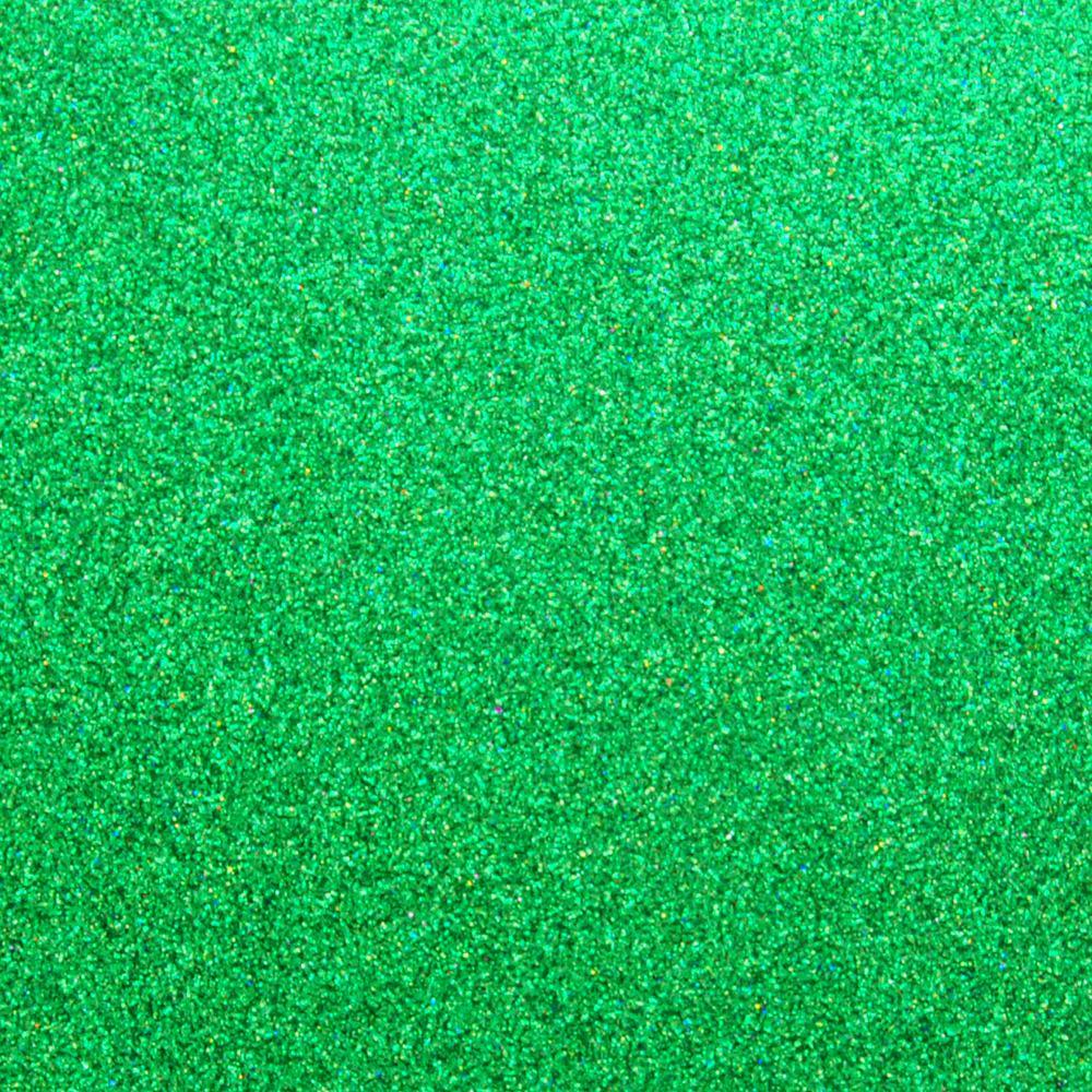 Глиттер 0.6 мм с клеевым слоем, Китай, ЗЕЛЕНЫЙ, 20х32 см