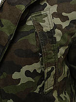 Парка мужская демисезонная с мехом , фото 2