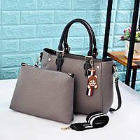 Женская сумка + клатч 2-в-1 0732/1 (ДМ), фото 1