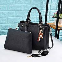 Женская сумка + клатч 2-в-1 0732/2 (ДМ), фото 1
