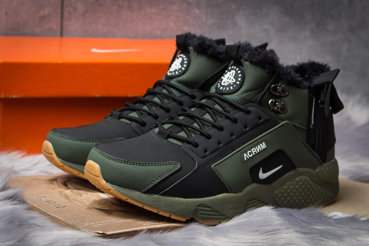 Зимние ботинки в стиле Nike Acronym, хаки (30372),  [  41 42 43 45  ]