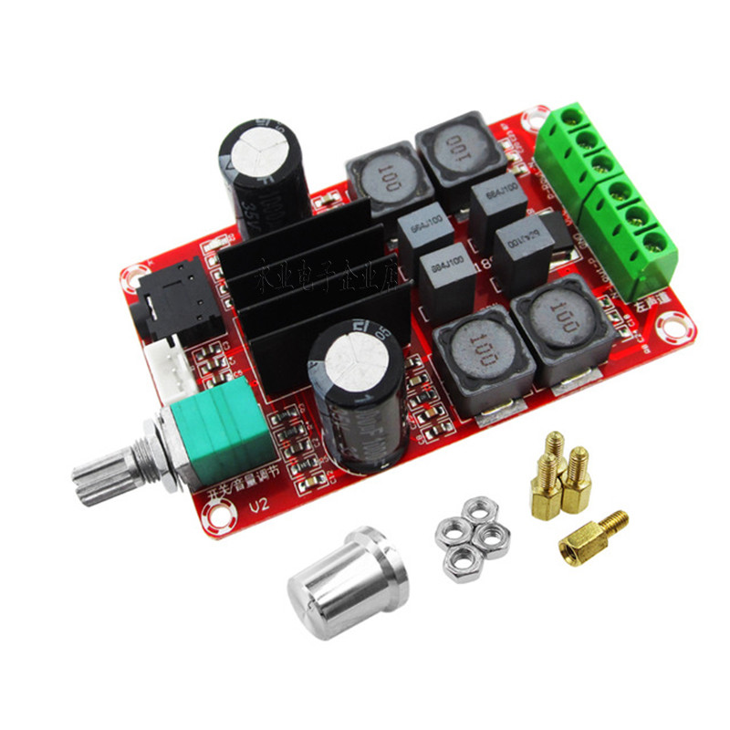 Усилитель звука XH-M189 TPA3116D2 50Вт+50Вт 2.0 DC 5-24В
