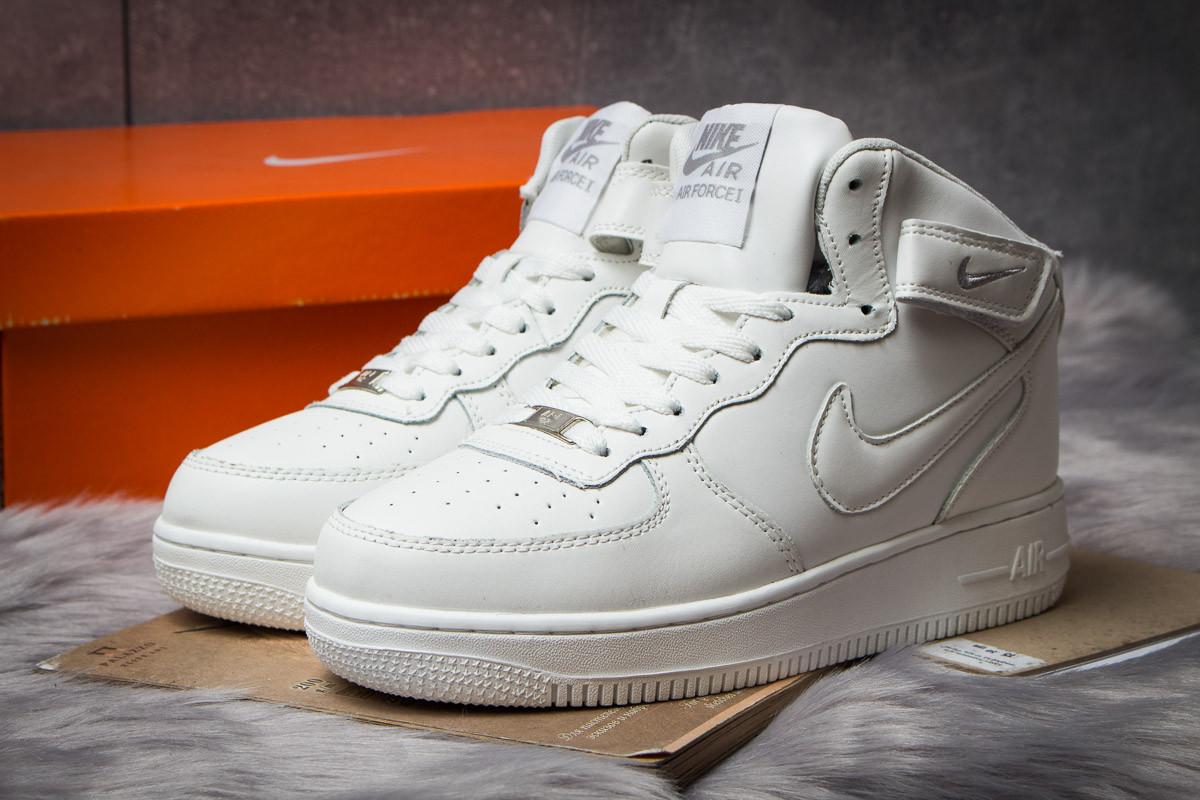 Зимние кроссовки в стиле Nike Air Force I, белые (30382),  [  41 42 43 44 45 46  ]