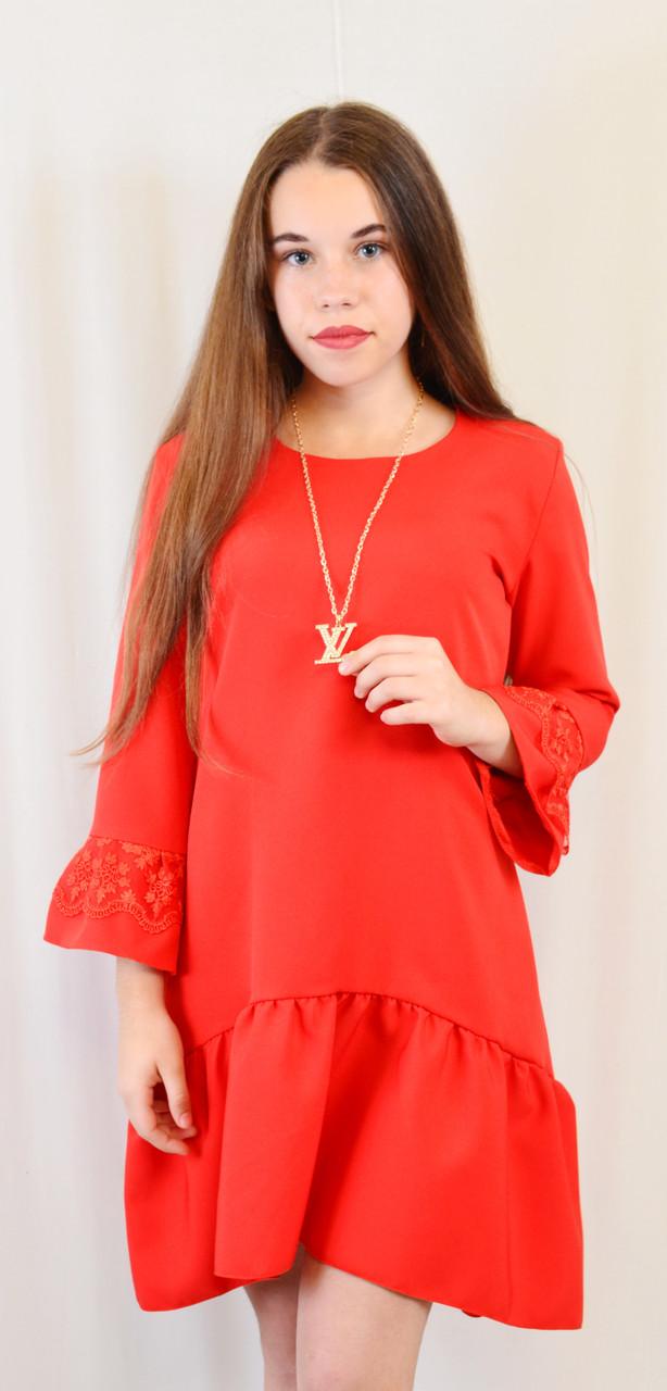 31df0c8845acc2b Красивое модное детское платье с воланом, цена 360 грн., купить в ...