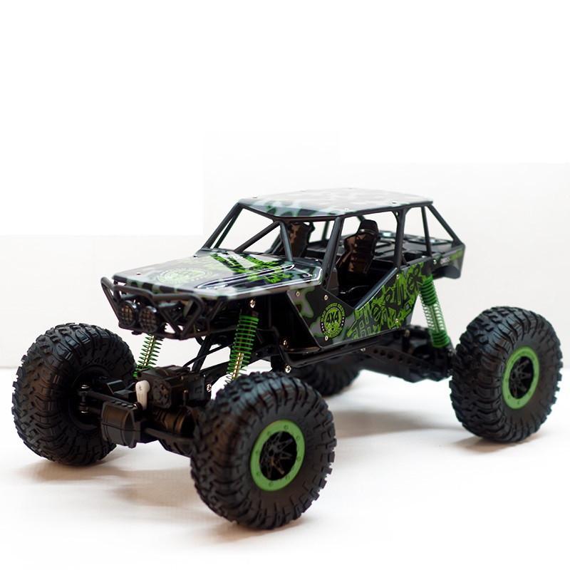 Радиоуправляемая игрушка HB TOYS Rock Crawler Джип на р/у 1:10 700mAh 4x4 Зеленый (SUN2260)