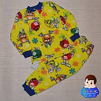 Тепла махрова піжама р. 122-128   Пижама детская теплая fef5ae0e9f3cc