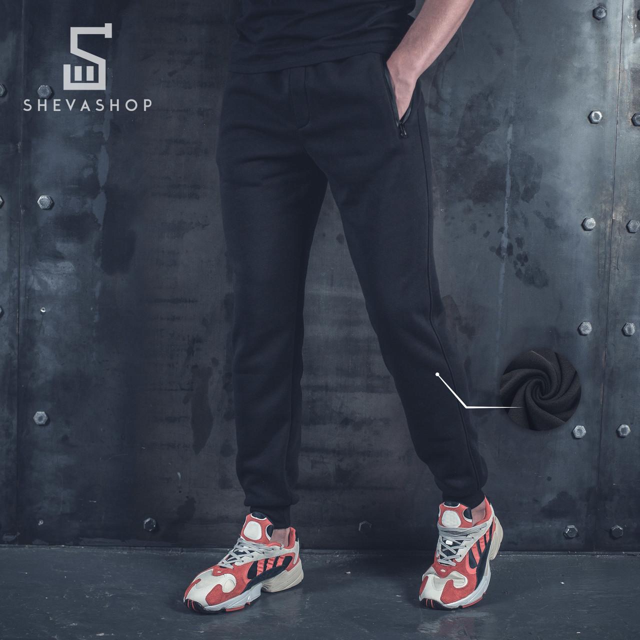 Теплые спортивные штаны BeZet '19 черные