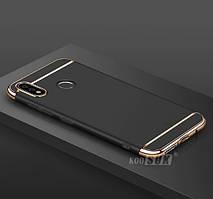 Чехол с золотыми вставками для Huawei P Smart Plus (Nova 3i) (2 Цвета)
