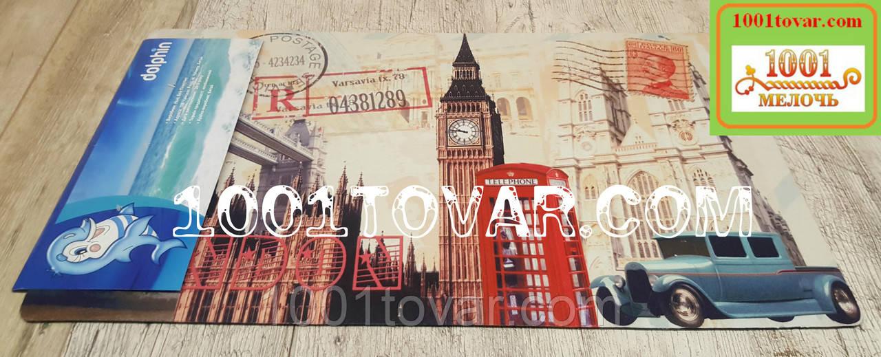 """Придверный грязезащитный коврик на ПВХ основе с нейлоном """"London"""" (Лондон) 75х45 см."""