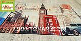 """Придверный грязезащитный коврик на ПВХ основе с нейлоном """"London"""" (Лондон) 75х45 см., фото 2"""