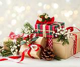 Новогодние подарки в картонной упаковке с Дополненной реальностью