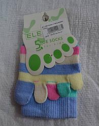 Детские носкис пальчиками Bebe (Oztas, Турция)