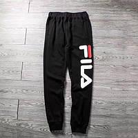 Чорні штани Fila logo | Топ