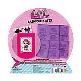 Розмальовка ЛОЛ Сюрпрайз L. O. L. Surprise Fashion Plates Модні Пластинки Розмальовка Л. О. Л Сюрприз 100 варіантів, фото 3
