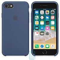 Чехол Apple Silicone Case Apple iPhone 7 Plus, 8 Plus синий 20