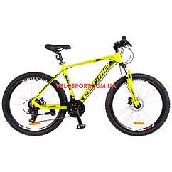 Горный велосипед Optimabikes F-1 HDD 26 дюймов желтый неон