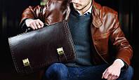 Как выбрать прочный мужской портфель и чем они между собой отличаются?