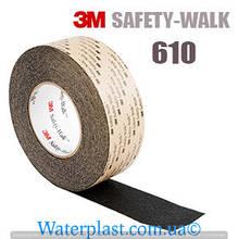 Противоскользящая лента 3M safety-walk 610 универсальная черная средняя зернистость 51 мм