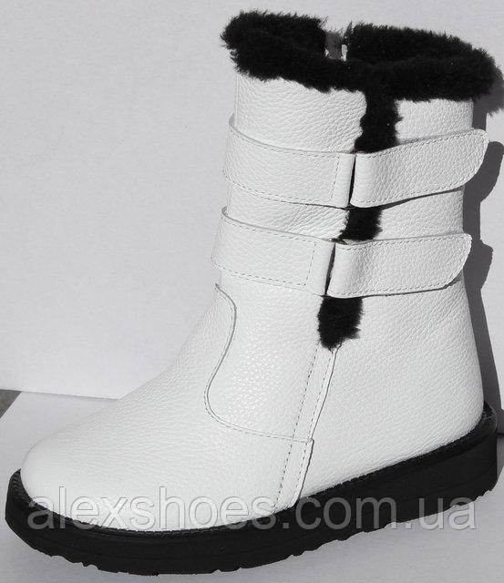 Сапоги зимние для девочки из натуральной кожи от производителя модель ДС-051