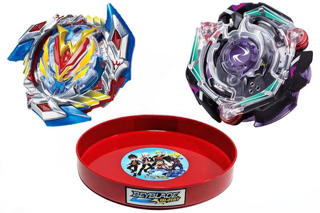 Бейблэйд набор ➜ Волтраек Winning Valkyrie V4 + Крейс Сатан Kreis Satan + Бейблейд Арена ➜ Beyblade Burst Set, фото 2