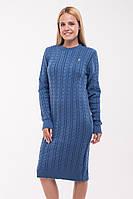 Вязаное платье Ромашка, в расцветках