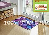"""Придверный грязезащитный коврик на ПВХ основе с нейлоном """"Цветная галька"""" 75х45 см., фото 5"""