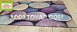 """Придверный грязезащитный коврик на ПВХ основе с нейлоном """"Цветная галька"""" 75х45 см., фото 2"""