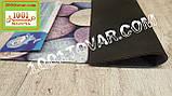 """Придверный грязезащитный коврик на ПВХ основе с нейлоном """"Цветная галька"""" 75х45 см., фото 4"""