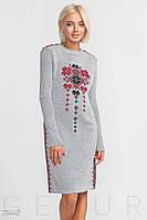 Платье вязаное Станислава 42-50, фото 1