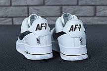 Кроссовки мужские Найк Nike Air Force 1 Low NBA. ТОП Реплика ААА класса., фото 2