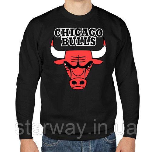 СвитшотChicago Bulls logo | Кофта стильная