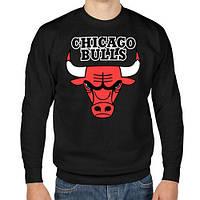 СвитшотChicago Bulls logo | Кофта стильная, фото 1