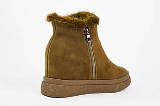 Замшевые ботинки с норкой хаки Lonza 7859, фото 2