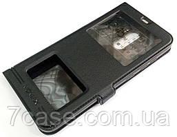 Чехол книжка с окошками momax для Xiaomi Pocophone F1 черный