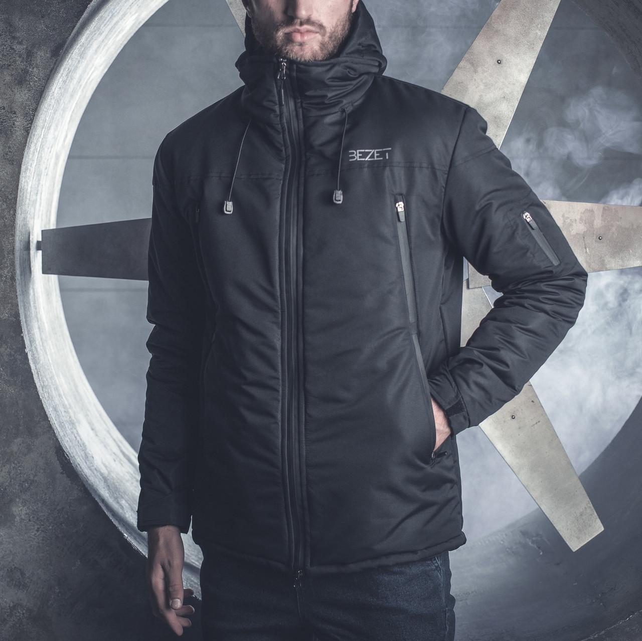 Зимняя мужская куртка BeZet Tech '19 черная