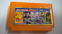 KY 8006 (8 In 1)Teenage Mutant Ninja Turtles: Tournament Fighters/X-Men 2/ F1 Race/Pokemon Yellow/Mappy/Hello