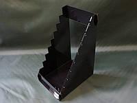 Подставка из черного акрила для ножей, фото 1