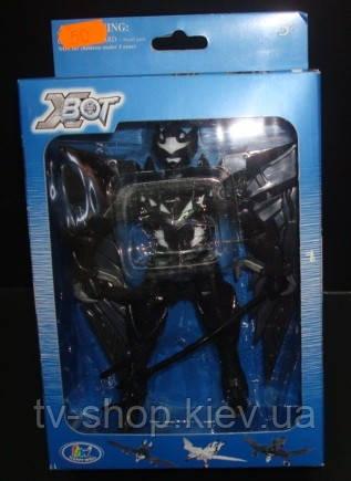 Робот-трансформер X-Bot Ворон-воин