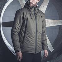 Зимняя мужская куртка BeZet Tech '19 хаки, фото 1